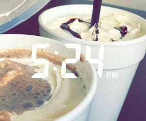 coffee, time, and snapchat image