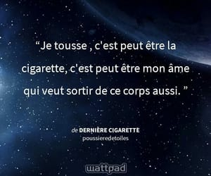 cigarette, francais, and french image
