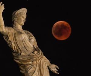 Athens, night, and photo image