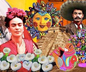 Frida, méxico, and pirámides image