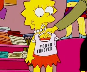 sassy, simpsons, and lisa image