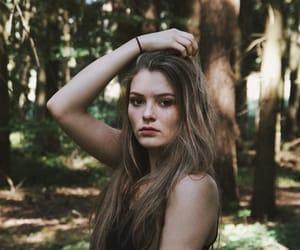brownhair, girl, and grunge image