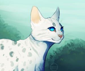 art, white, and blue eyes image