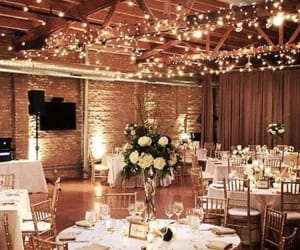 flowers, light, and wedding image