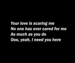 beautiful, black, and Lyrics image