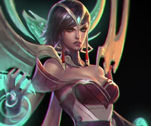 art, drawing, and league of legends image