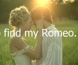 love, quote, and romeo image