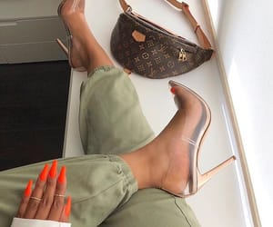 heels, Louis Vuitton, and fashion image