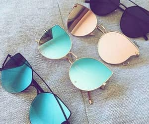 colorful and sunglasses image