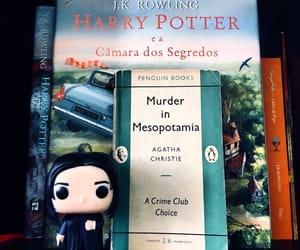 agatha christie, harry potter, and slytherin image