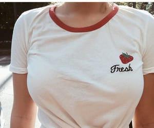 fashion, strawberry, and style image