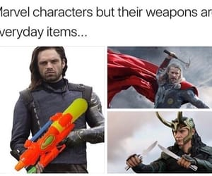 Avengers, Marvel, and sebastian stan image