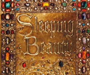 sleeping beauty, disney, and book image
