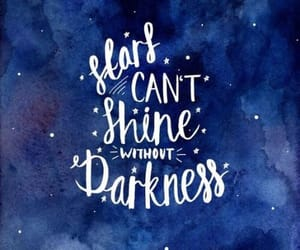 stars, quotes, and Darkness image