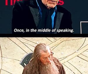 gandalf, funny, and ian mckellen image