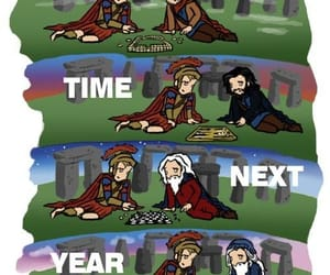 doctor who, merlin, and rory williams image