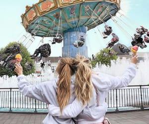 adventure, amusement park, and aesthetic image