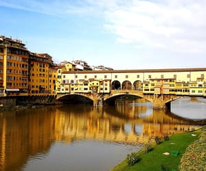 florence, ponte vecchio, and italy image