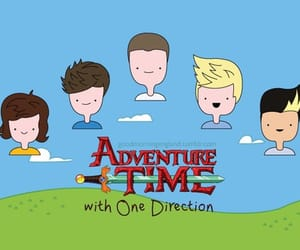 one direction, adventure time, and liam payne image