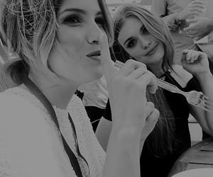 black and white, shelley hennig, and malia hale image