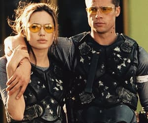 Angelina Jolie, brad pitt, and mr and mrs smith image