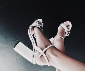 accessories, clothes, and high heels image