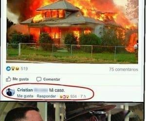 casa, divertido, and facebook image