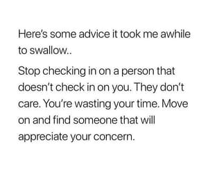 advice, appreciate, and care image