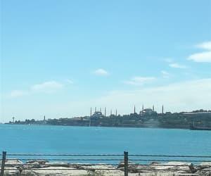 blue, turkiye, and üsküdar image