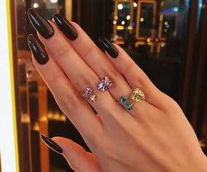 black, ring, and brillante image