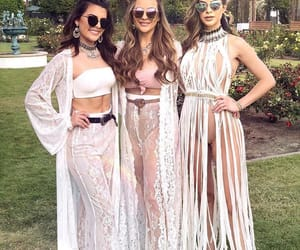 coachella, friends, and coachella outfit image