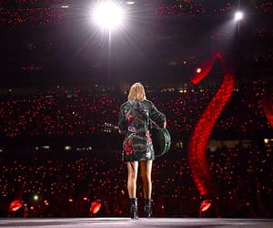 crowd, guitar, and Taylor Swift image