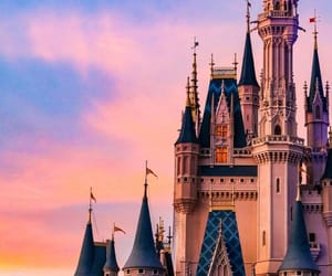 aesthetic, castle, and disney image