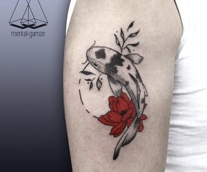 koi tattoo, tattoo blog, and ink blog image