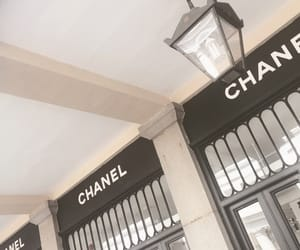aesthetic, black and white, and chanel image