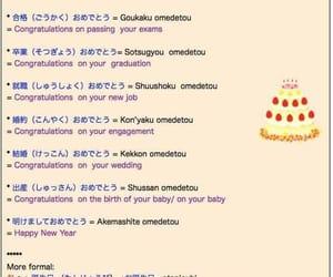 congratulations, language, and vocabulary image