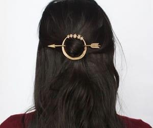 arrow and hair image