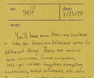 quotes, yellow, and notes image