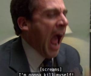mood, the office, and michael scott image