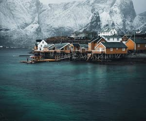 cold, norway, and winter image