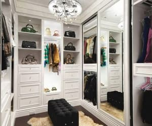 closet, house, and clothes image