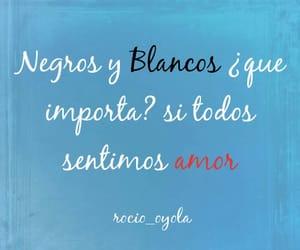 amor, sad, and negros image