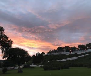 beautiful, sunset, and sunshine image