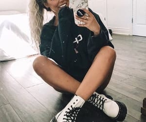 fashion, white boots, and youtube image