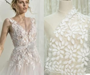wedding dress, custommade, and promdress image