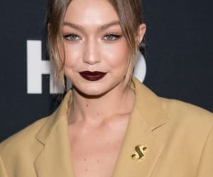 dark lips, top model, and red carpet image