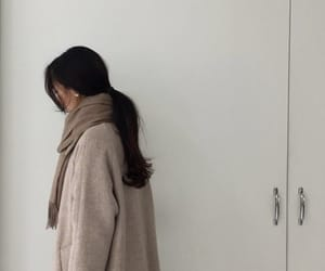 beige and minimalism image