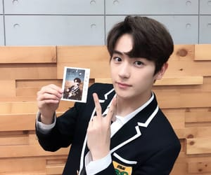 hyunjae, the boyz, and lee jaehyun image