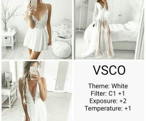 photography, white theme, and vsco filters image