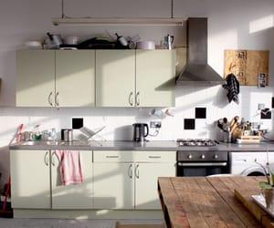 green, kitchen, and minimal image